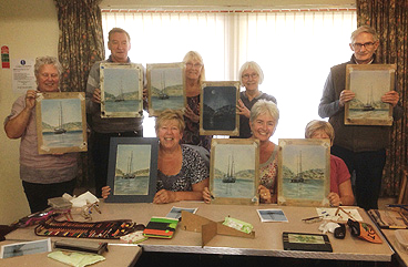 Art Classes and Group Demonstrations by Sharon Wagstaff, Local Artist, Mold